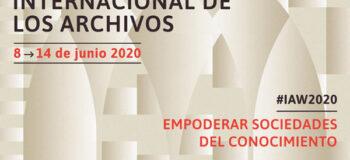 Semana Internacional de los Archivos 2020