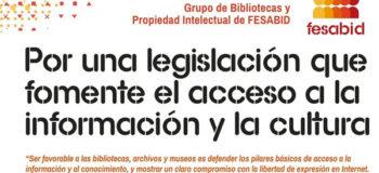 """""""Qué sabemos de …"""": campaña de divulgación sobre propiedad intelectual y bibliotecas"""