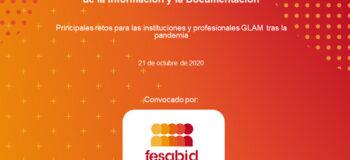 FESABID convoca Foro de Reflexión del Sector de la Información y la Documentación